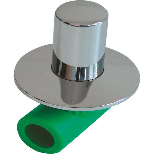 Válvula corte ppr mando oculto hembra ø25mm