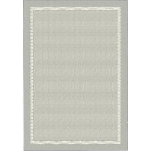 Alfombra gris polipropileno broadway 20427/332 120 x 170cm