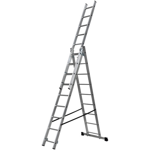 Escalera trasformable 3x9 dexter en aluminio