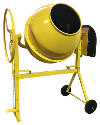 Hormigonera eléctrica Hormix ALTRAD de 700 w y 150 litros naranja