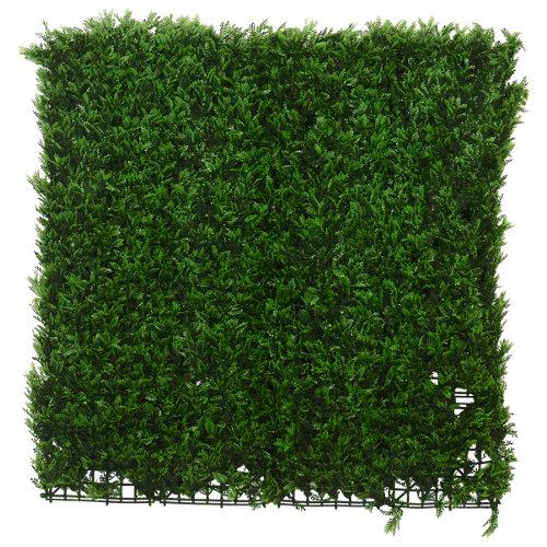 Jardín vertical artificial helecho tenax 100x100 cm