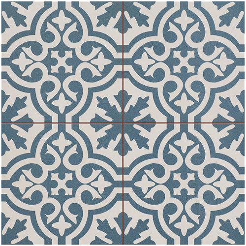 Pavimento cerámico berk slate 45x45 en color azul