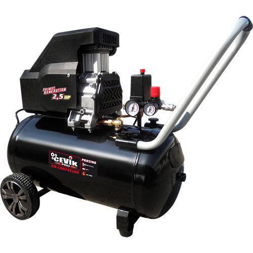 Compresor sin aceite cevik pro ca-pro51ng de 2.5 cv y 50l de depósito