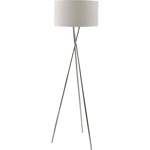 Lámpara de pie garfield plata