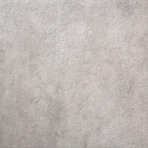 Peldaño porcelana gris / plata de 61x61x2 cm