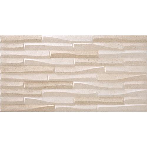 Pavimento / revestimiento porcelánico sunset 31.6x60.8 craft-ivory