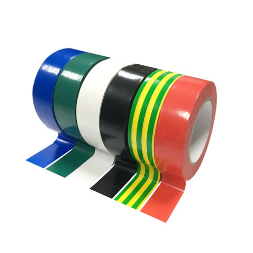 Pack 6 cintas aislantes con 6 colores 15mm 10 m