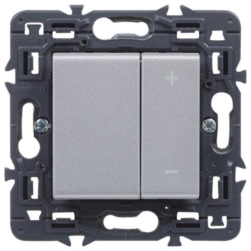 Regulador giratorio legrand valena next aluminio