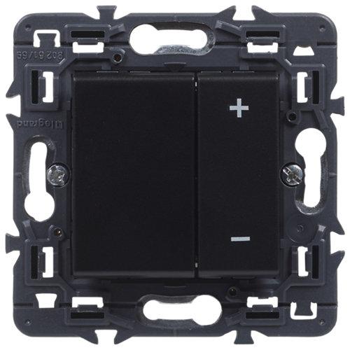 Regulador giratorio legrand valena next negro