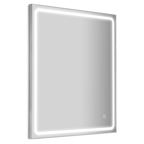 Espejo de baño con luz led mia 70 x 80 cm