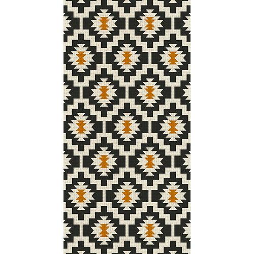 Alfombra negra pvc kitch 3692 60 x 120cm