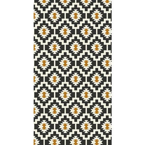 Alfombra negra pvc kitch 3719 80 x 150cm