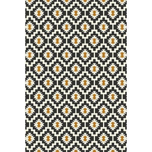 Alfombra negra pvc kitch 3746 120 x 180cm