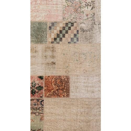 Alfombra marrón pvc marrakech 3721 80 x 150cm