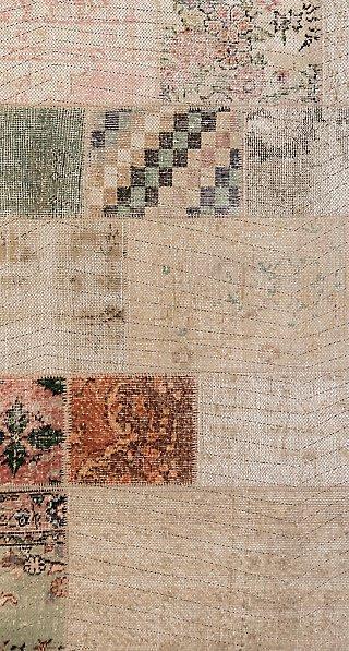 Alfombra color marrón pvc Marrakech 3721 80 x 150cm · LEROY