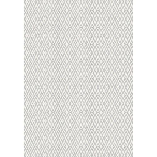 Alfombra gris pvc jaipur 160 x 230cm