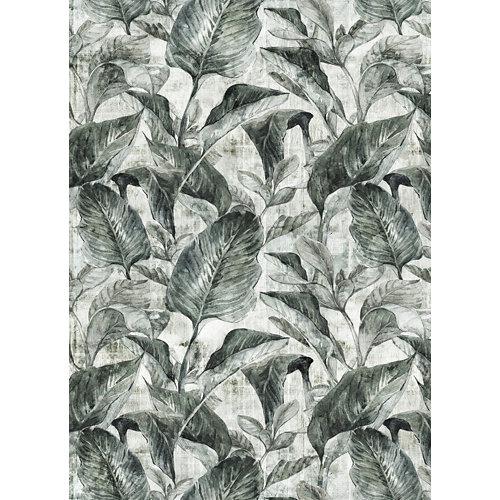 Alfombra verde pvc bananera 3945 195 x 300cm