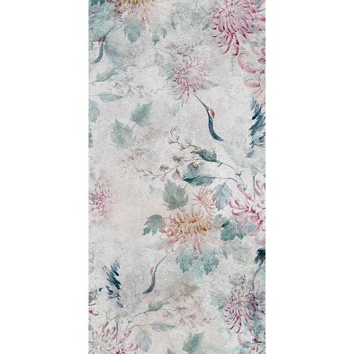 Alfombra gris pvc garza japonesa 3754 60 x 120cm