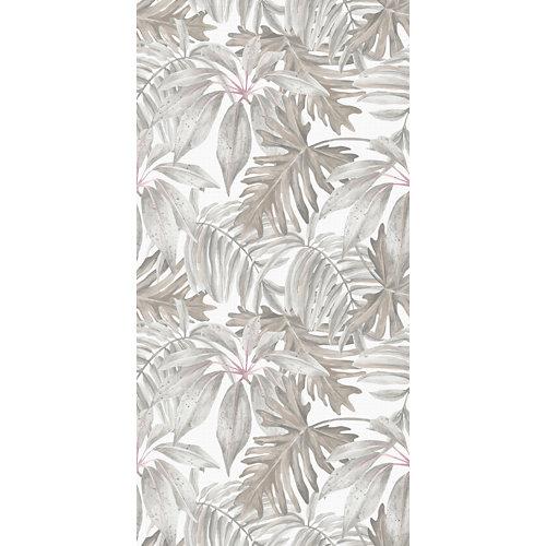 Alfombra beige pvc tropical 60 x 120cm