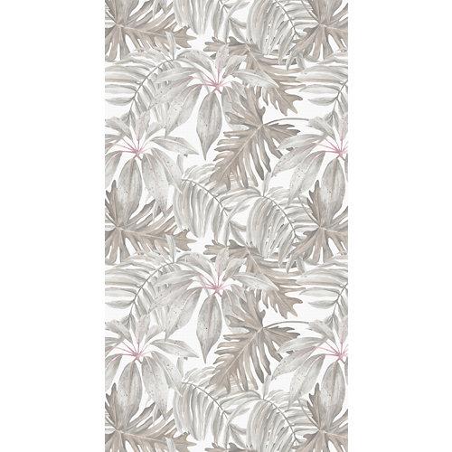 Alfombra beige pvc tropical 80 x 150cm
