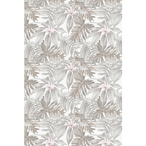 Alfombra beige pvc tropical 120 x 180cm