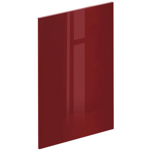 Puerta mueble de cocina sevilla rojo brillo 59,7x89,3x1,8 cm