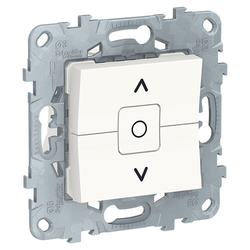 Interruptor de persianas schneider new unica blanco