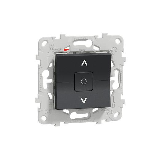 Interruptor de persianas schneider new unica antracita