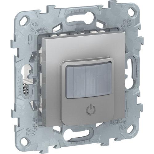 Detector de movimiento schneider new unica aluminio