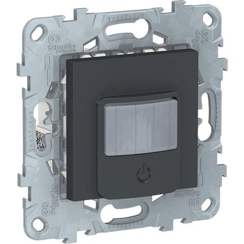 Detector de movimiento schneider new unica antracita