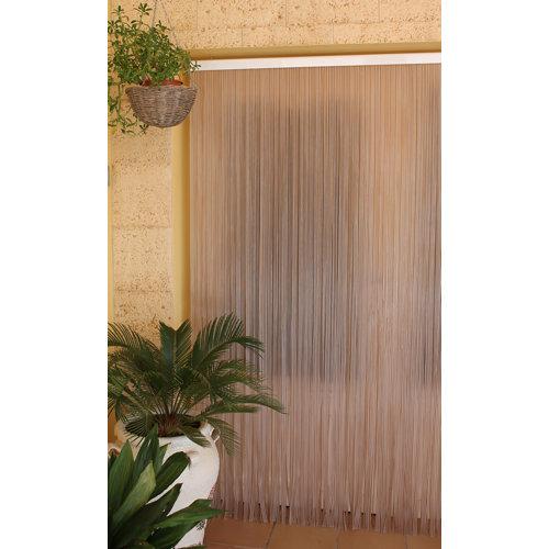 Cortina de puerta multicolor tradicional de 120 x 210 cm