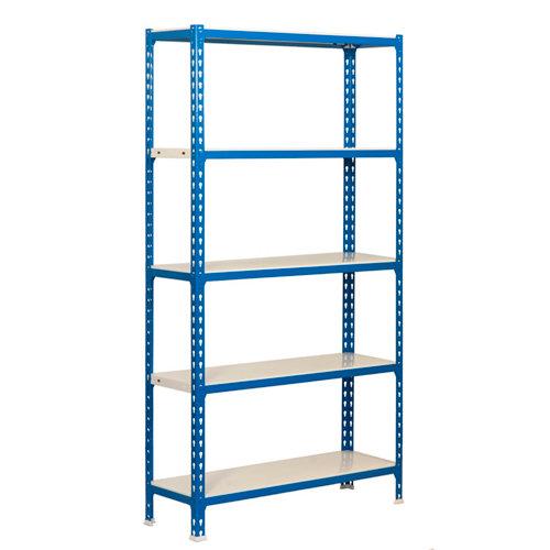Estanteria sin tornillos metalica simonclick azul plus 5/50