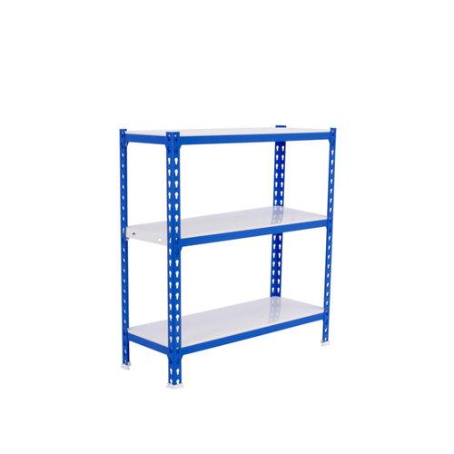 Estanteria sin tornillos simonclick azul mini 3/50
