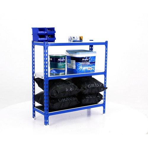 Estanteria sin tornillos metalica simonclick azul plus 3/50