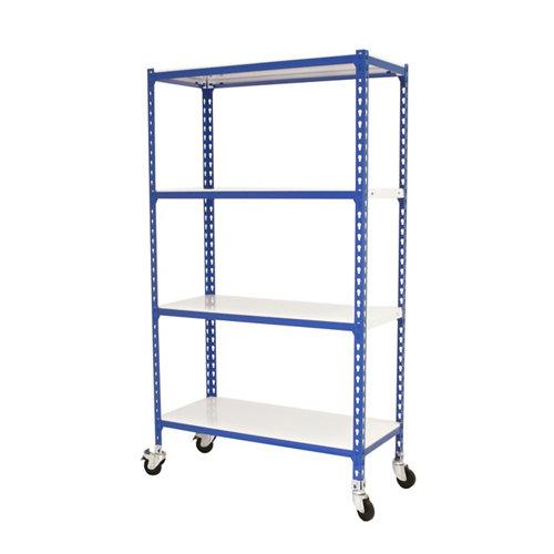 Estanteria sin tornillos simonclick movil azul plus 4/40