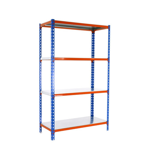 Estanteria sin tornillos simonclick azul/naranja mini 4/30