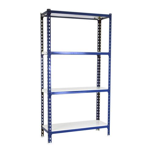 Estanteria sin tornillos metalica simonclick azul 4/50