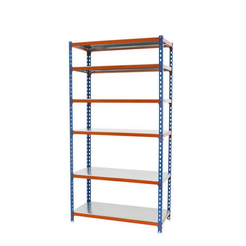 Estanteria sin tornillos simonclick azul/naranja splus 6/30