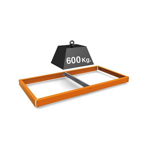 Estante adicional simonforte naranja 180x90x30cm