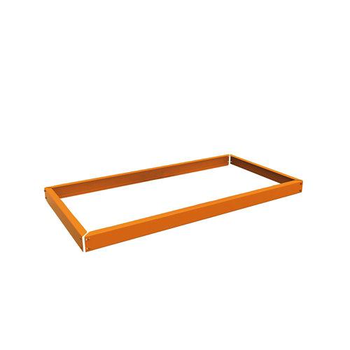 Estante adicional ecoforte naranja 120x45x30cm