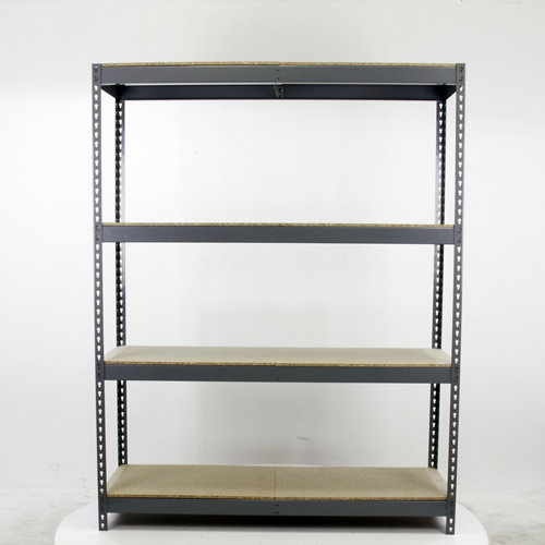 Estantería metálica en kit de acero de 60x150 cm y carga max. 400 kg por balda