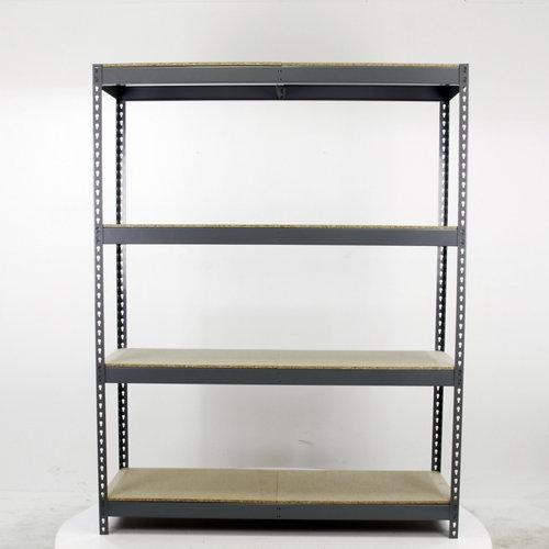 Estantería metálica en kit de acero de 60x180 cm y carga max. 400 kg por balda