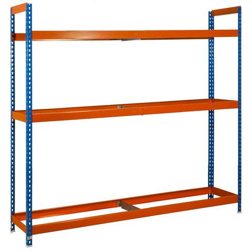 Estanteria autoforte azul/naranja 200x210x45cm