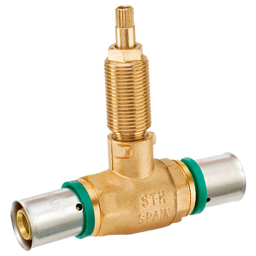 Válvula press empotrar de ø20 mm