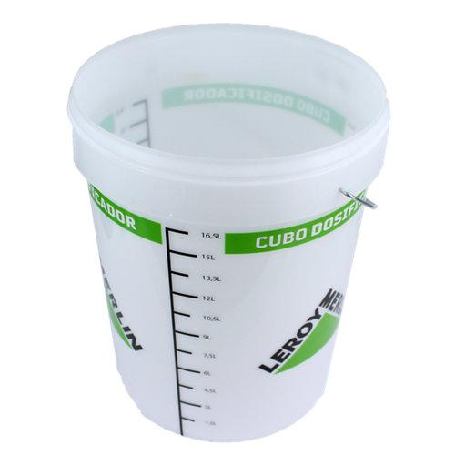 Cubo tayg redondo de 21 litros