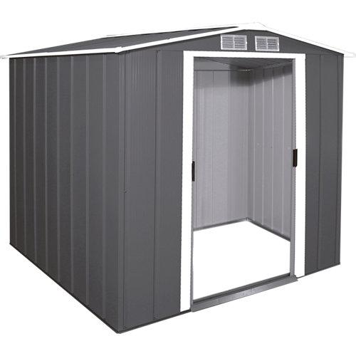Caseta de metal eco shed 6x6 de 202x180.5x182.2 cm y 3.68 m2