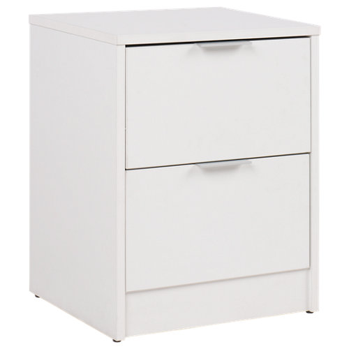 Cajonera 2 cajones serie one blanco 50x40x34cm (altoxanchoxfondo cm)