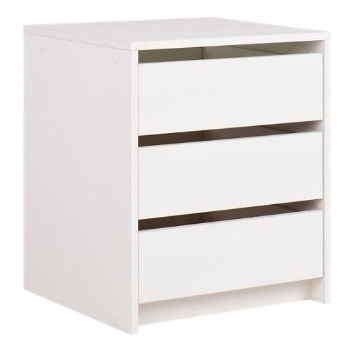 Cajonera armario serie one blanco 47x40x42cm
