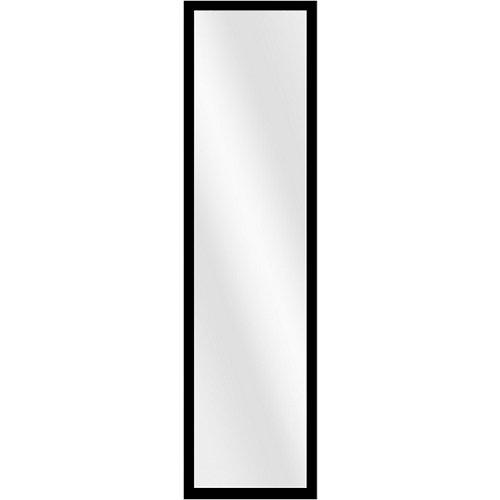 Espejo rectangular puerta negro negro inspire 120 x 30 cm