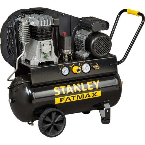Compresor correas stanley fatmax b350/10/50 de 3 cv y 50l de depósito